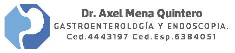 Dr. Axel Mena Quintero